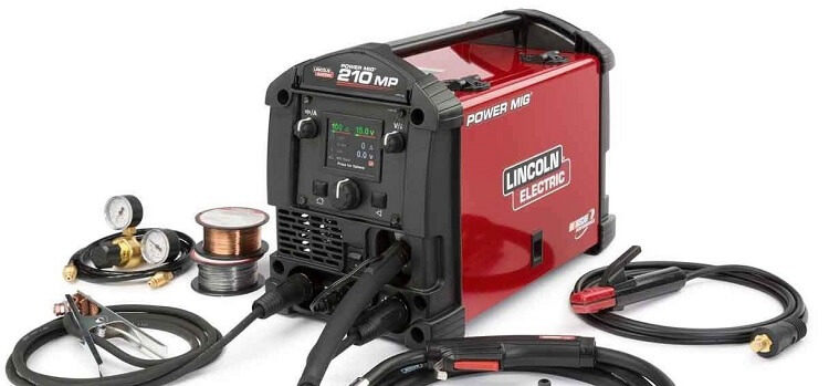 Lincoln Electric Powermig 210 MP Welder Review