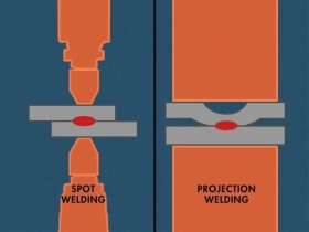 spot vs projection welding