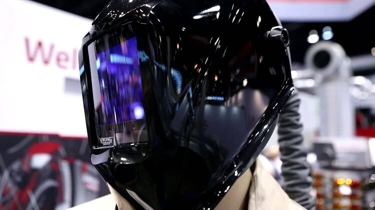 Welding Helmet with Built in Respirator